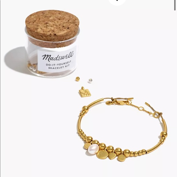 Madewell Do-It-Yourself Pearl Coin Bracelet Kit